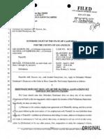 ABC Escrow Inc. / Alcohol Enterprises Inc. v Michael Steinhauer - Reply to Motion