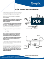 Steam Trap Installation Best Practices StL