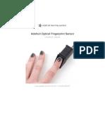 adafruit-optical-fingerprint-sensor pdf   Arduino   Fingerprint