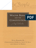 Walter Berns and the Constitution 140130400788