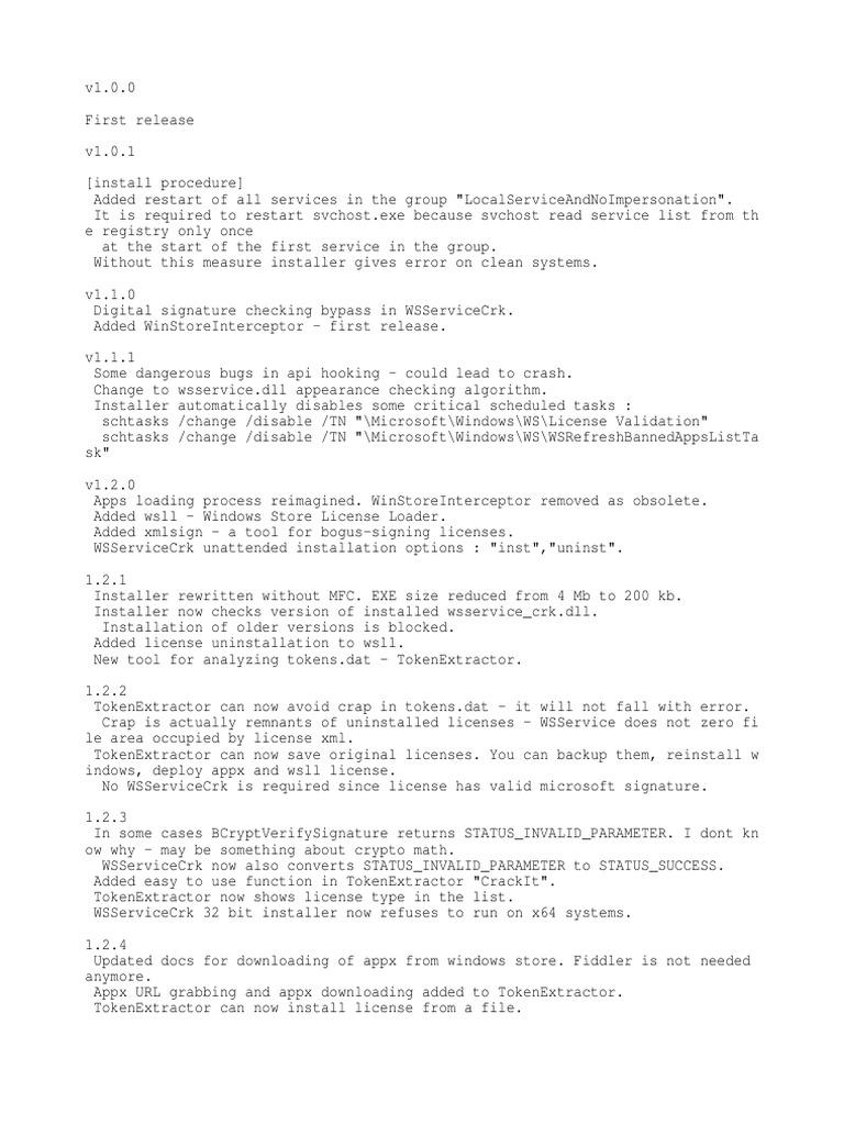 Whats New | Installation (Computer Programs) | Windows Registry