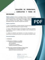 6636Taller en Solución de Problemas, Manejo de Conflictos y Toma de Decisiones