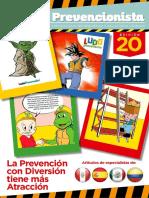 Revista El Prevencionista 20ava Edición