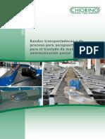 CHIORINO Aeropuertos Automatizacion Postal Bandas Transportadoras-ES