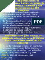 5.3 - Reglamentación de Seguridad Para Buques de Pasaje de Eslora Inferior a 24 Metros Por GT