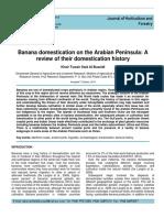 Banana Domestication on the Arabian Peninsula