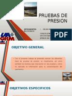 Presentacion Final de Pruebas de Presion