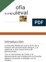 Filosofía Medieval Dictar