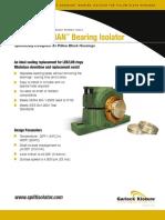 Resources Bearing Split Isolators for Split Pillow Blocks