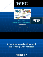 04 - Abrasive Machining & Finishing Operations