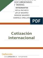 COTIZACIÓN INTERNACIONAL, CREDITO DOCUMENTARIO.pptx