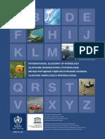 Glosario Hydrology