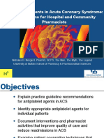 Antiplatelet Agents in Acute Coronary Syndrome_Interventions for Hospital and Community Pharmacists