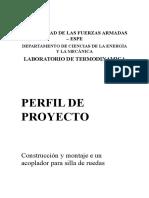 Proyecto Acoplador de Silla de Ruedas