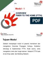 1. Modul - 1 Overview Fttx