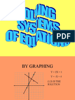 Systems Equations Lesson PPT 10-24-16