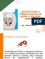 Formalización de Las MYPES