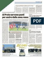 Il Tirreno Prato 02-12-2016 - Calcio Lega Pro