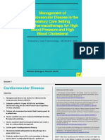 Management of Cardiovascular Disease in the Ambulatory Care Setting