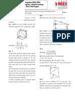 Std 8 - Ganit Pravinya Year 2013 Test Paper
