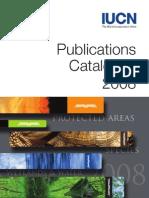 UICN.Catálogo de Publicaciones 2008