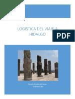 Logística Del Viaje a Hidalgo