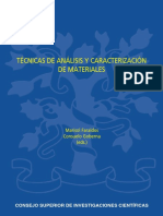 Tecnicas de Analisis y Caracterizacion