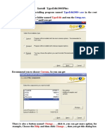 1-How to Install TypeEdit2003 (1).doc