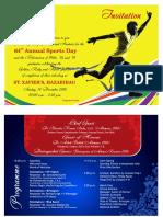 Sports Day Invitation 2016 PDF Pree