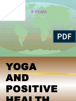 Yoga and Positive Health 1