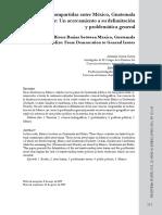 Cuencas Compartidas en Mexico Guatemala y Belice