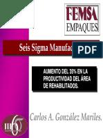 Proyecto CocaCola Seis Sigma