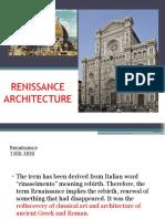 Lecture #8.Renissance Architecture