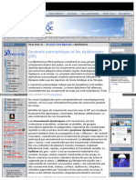 Dystonie Paroxystique Et Les Dyskinésies