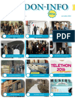 Le bulletin de Novembre de l'association verdon-info
