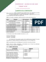 Reglamento Cross Constitucion Alcazar 2016