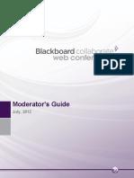 Bb CollaborateFull Moderator Guide v12