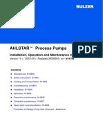 Ahlstar IOM 20031215 English (Links)