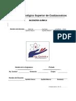 Formato de Portafolio de Evidencias Con Logo