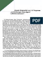 """W. A. Kowaljow - Die nationale Originalität von I. S. Turgenews """"Aufzeichnungen eines Jägers"""""""