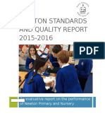 Newton Standards and Quality Report 2015-2016
