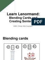 Learn Lenormand BlendingSentences