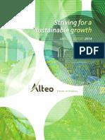 Alteo Annual Report 2014