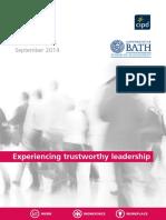 Experiencing Trustworthy Leadership 2014 Tcm18 8841