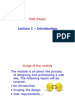 Lecture 1 - Introduction