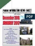 Newcastle Parish Newsletter Dec 2016 & Jan 2017
