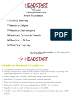 2. Headstart Presentation