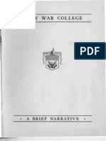 Army War College History (1951)