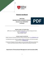 MGT3140 Handbook 2016