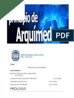 Informe 5 Principio de Arquimedes